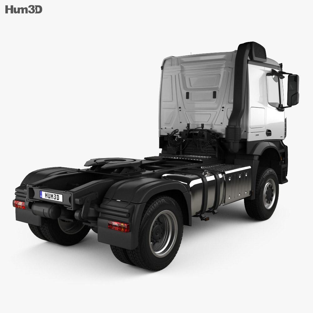 Mercedes-Benz Arocs Tractor Truck 2-axle 2013 3d model