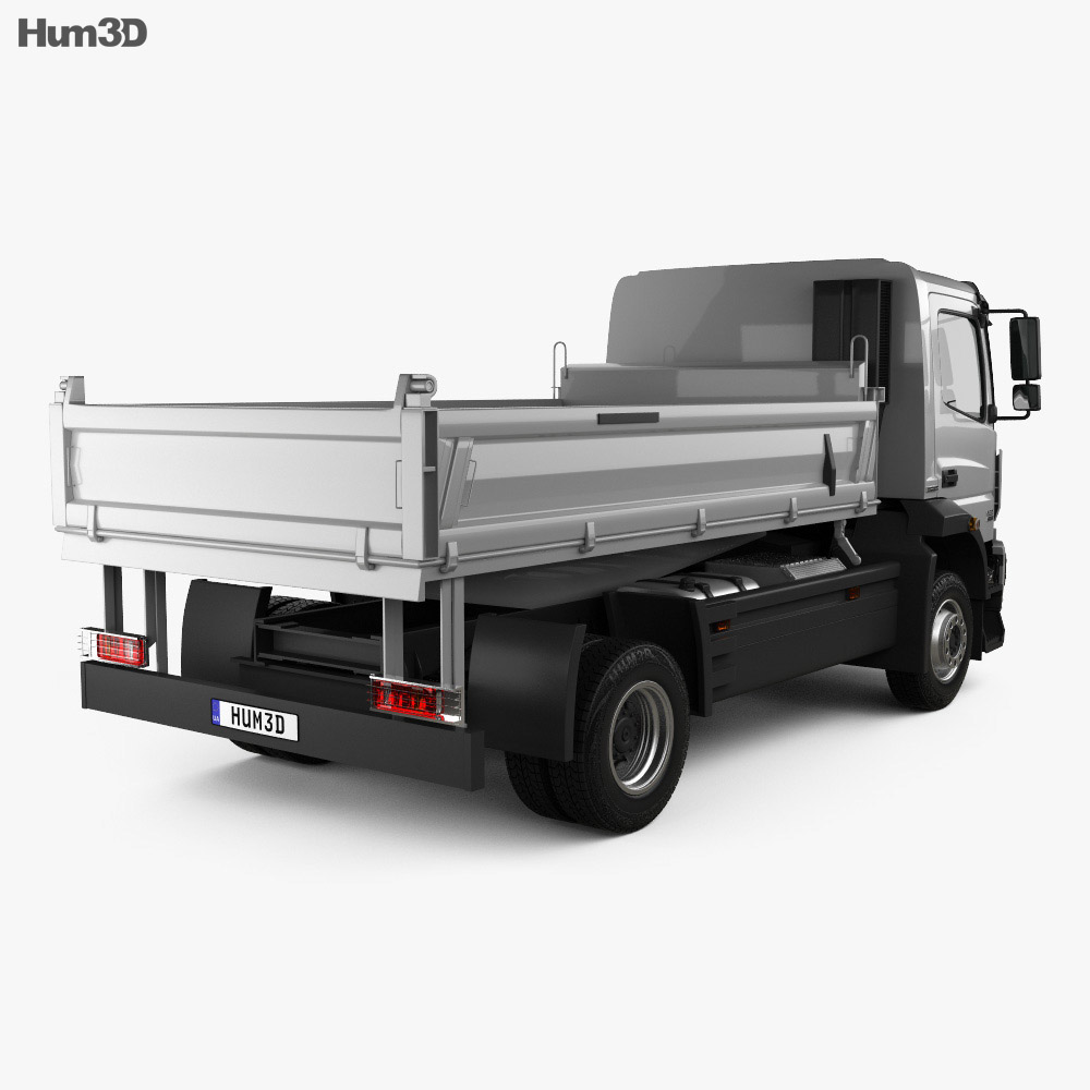 Mercedes-Benz Atego Tipper Truck 2013 3d model