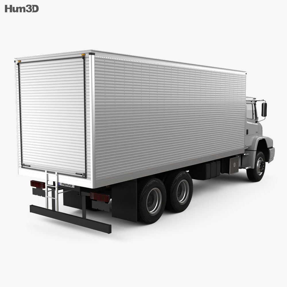 Mercedes-Benz Atron Box Truck 2011 3d model