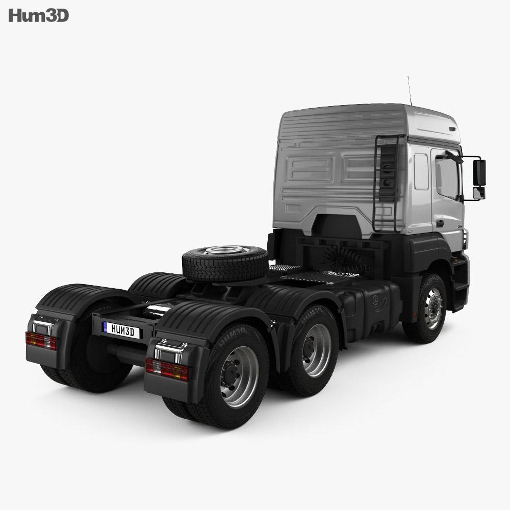 Mercedes-Benz Axor Tractor Truck 2011 3d model