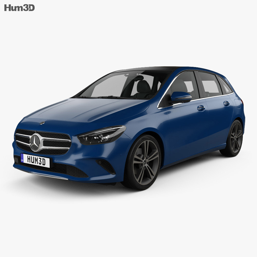 Mercedes-Benz B-Class (W247) 2019 3d model