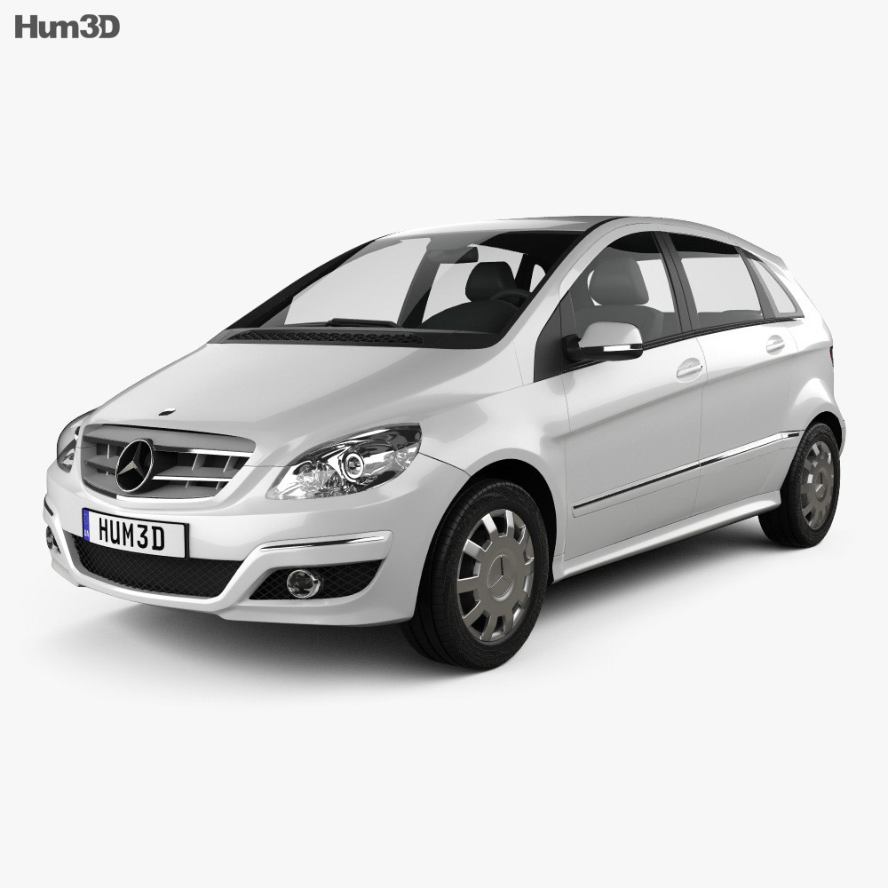 Mercedes-Benz B-Class 2010 3d model