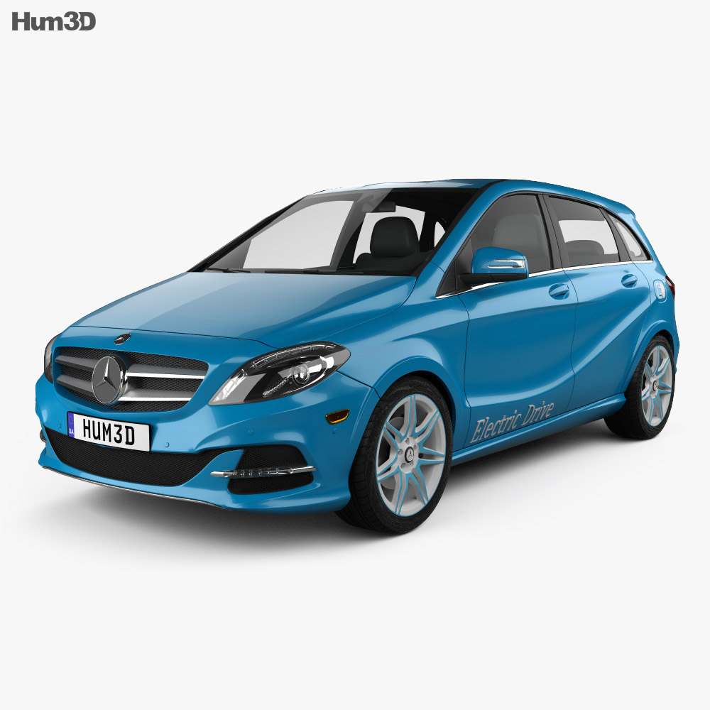 Mercedes-Benz B-Class (W242) Electric Drive 2014 3d model