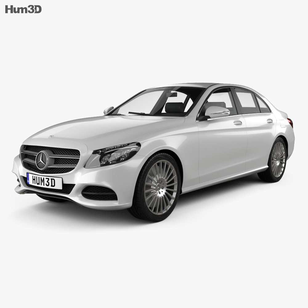 Mercedes-Benz C-Class (W205) sedan 2014 3d model