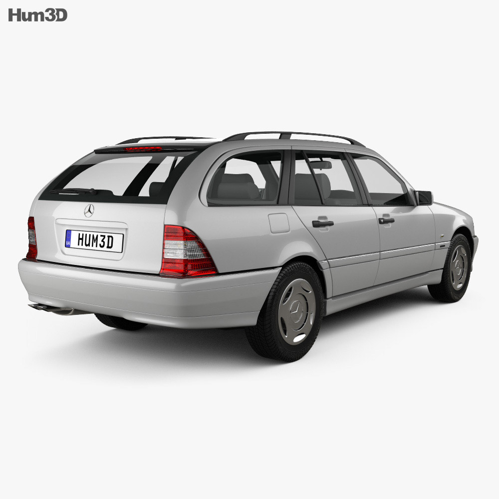 Mercedes-Benz C-Class (S202) estate 1997 3d model