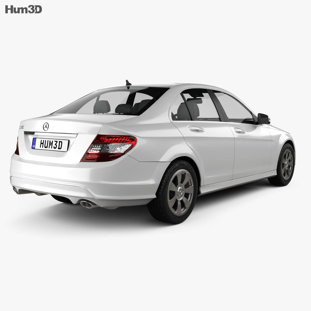Mercedes-Benz C-Class 2007 3d model