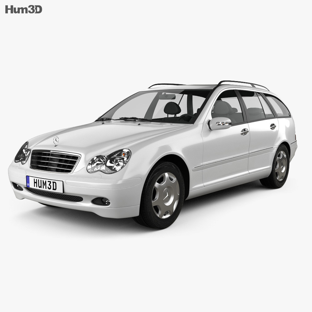 Mercedes-Benz C-Class (W203) estate 2005 3d model