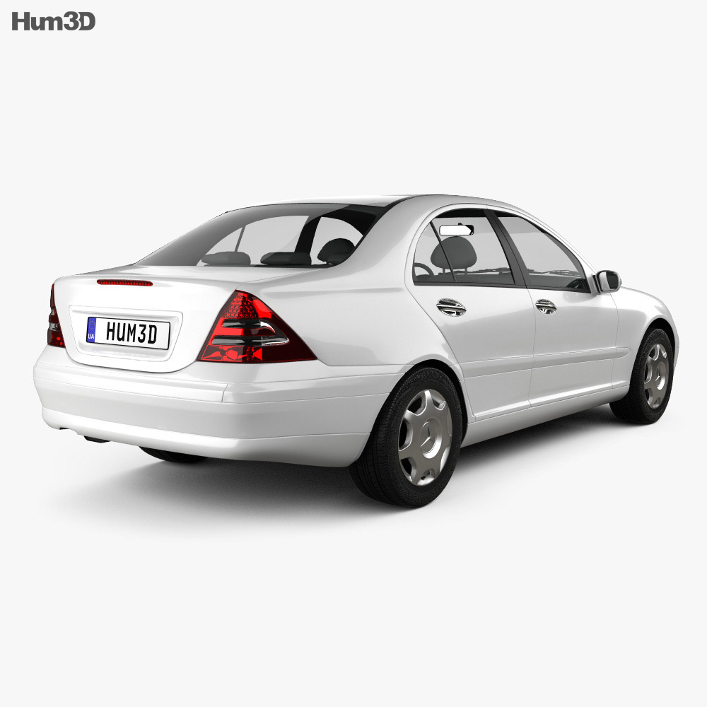 Mercedes-Benz C-class (W203) sedan 2005 3d model
