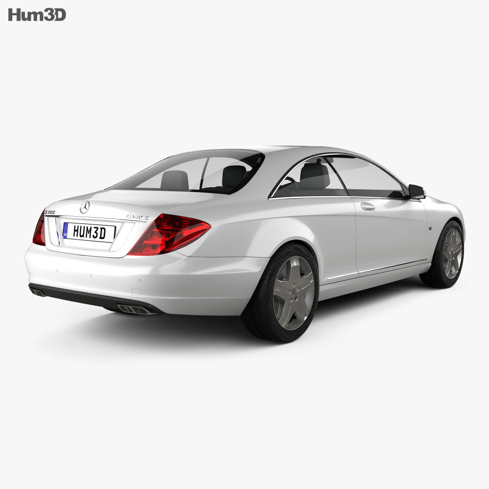 Mercedes-Benz CL-Class W216 2011 3d model
