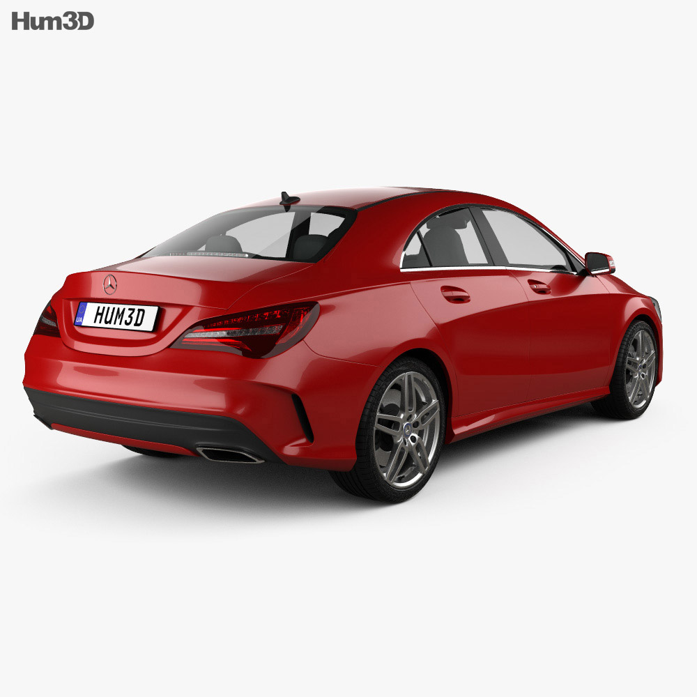 Mercedes-Benz CLA-Class (C117) AMG 2016 3d model