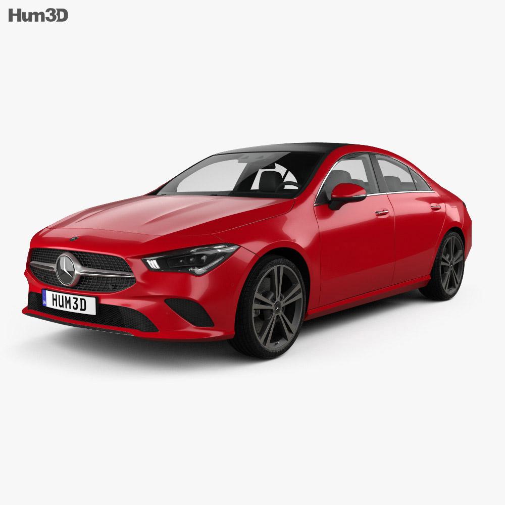 Mercedes-Benz CLA-class 2019 3d model