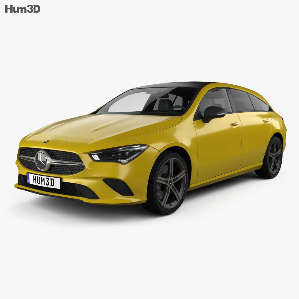 Mercedes-Benz CLA-class Shooting Brake 2019 3d model