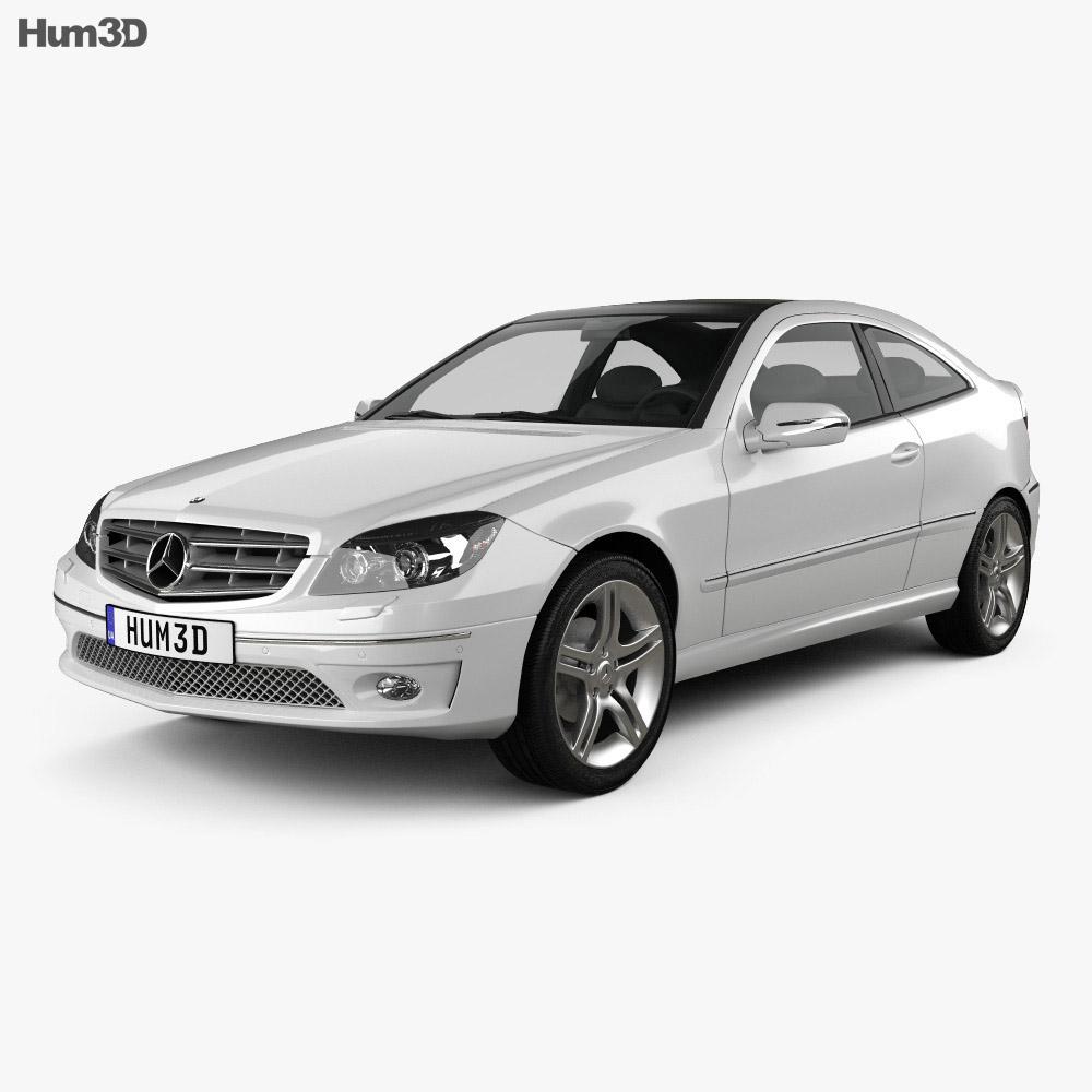 Mercedes-Benz CLC-Class (CL203) 2008 3d model