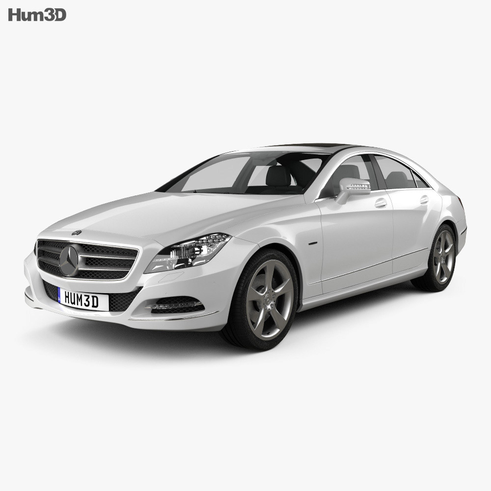 Mercedes-Benz CLS-Class (W218) 2012 3d model