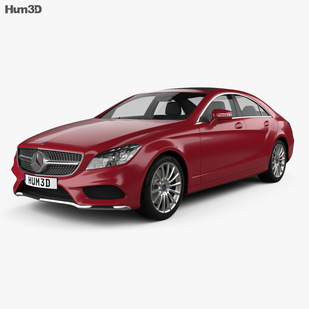 Mercedes-Benz CLS-class AMG Sports Package 2014 3d model
