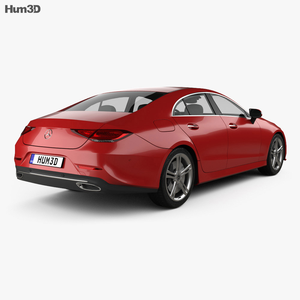 Mercedes-Benz CLS-class (C257) 2018 3d model