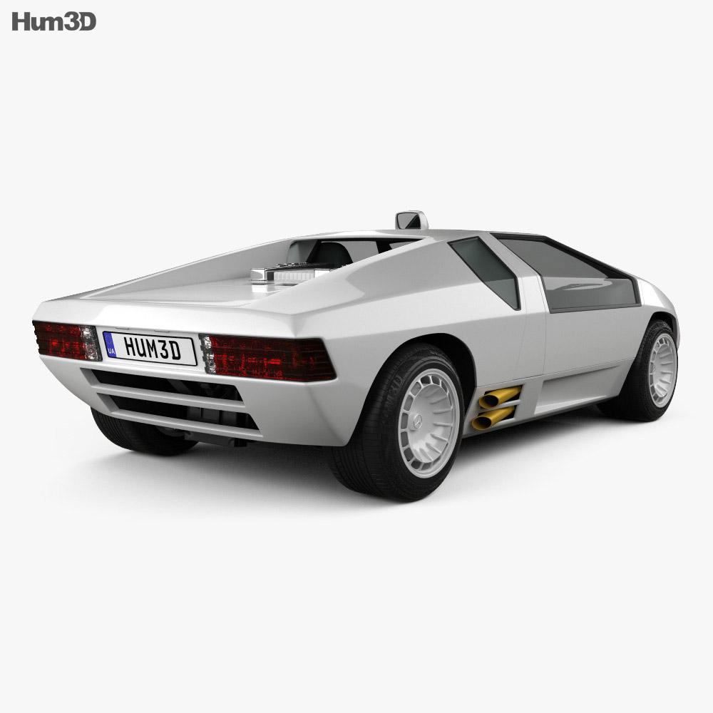 Mercedes-Benz CW311 1979 3d model back view