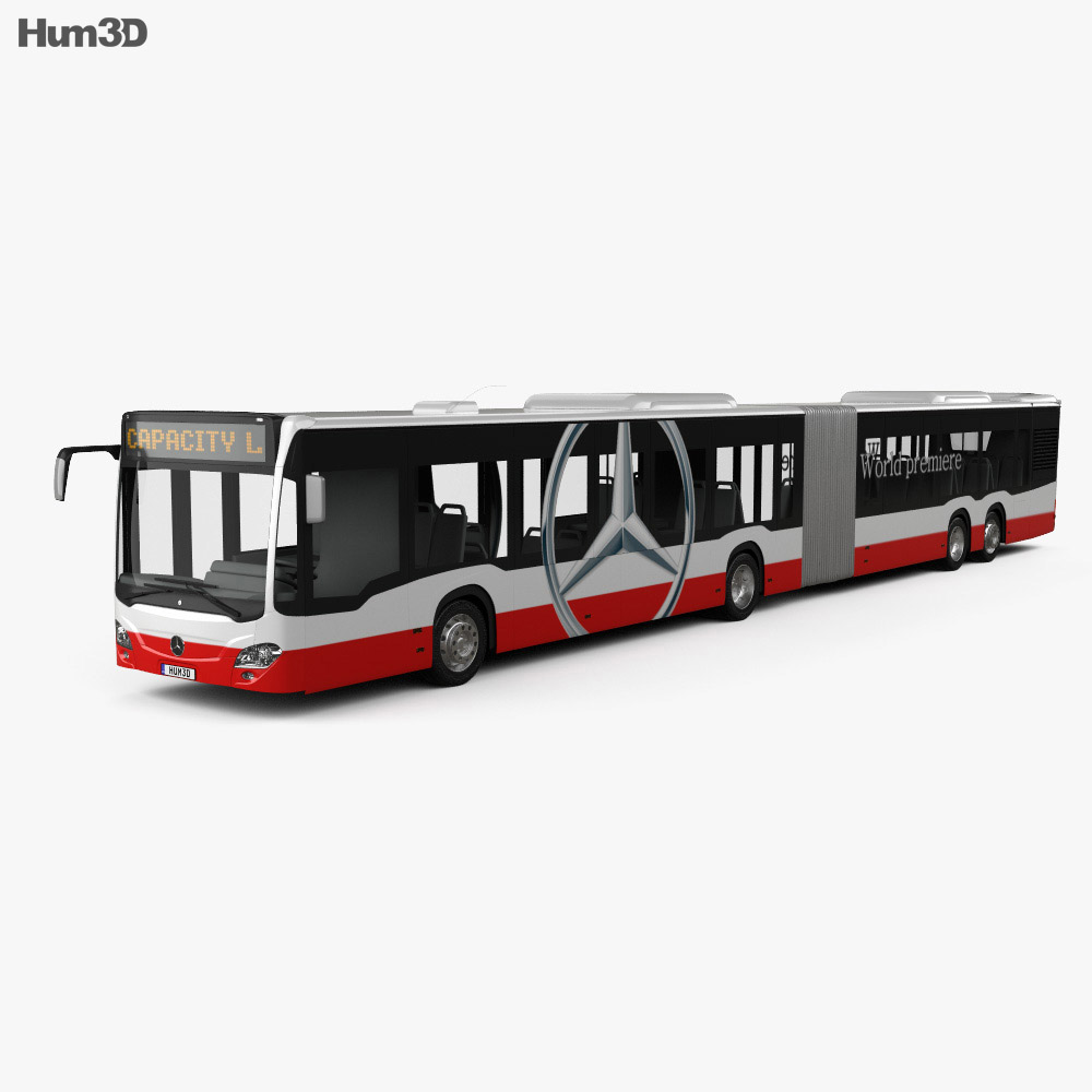 Mercedes-Benz CapaCity L 4-door Bus 2014 3d model