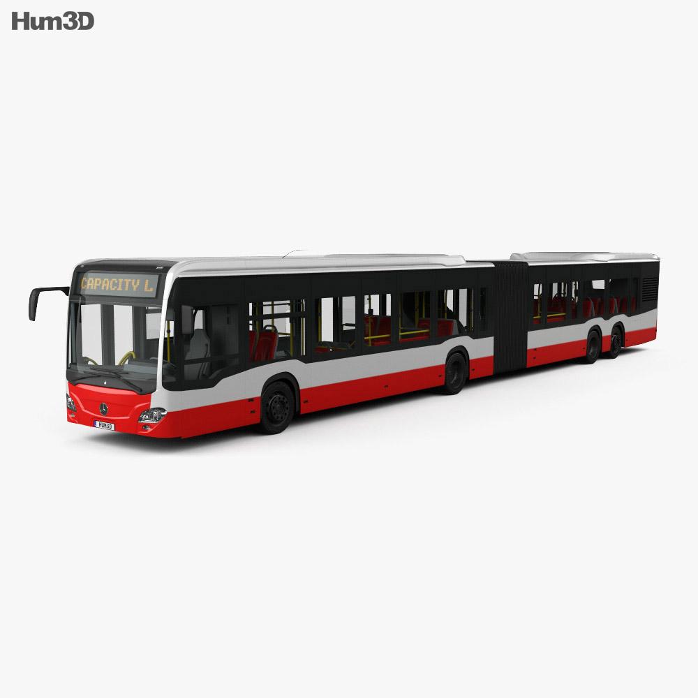 Mercedes-Benz CapaCity L 5-door Bus with HQ interior 2014 3d model