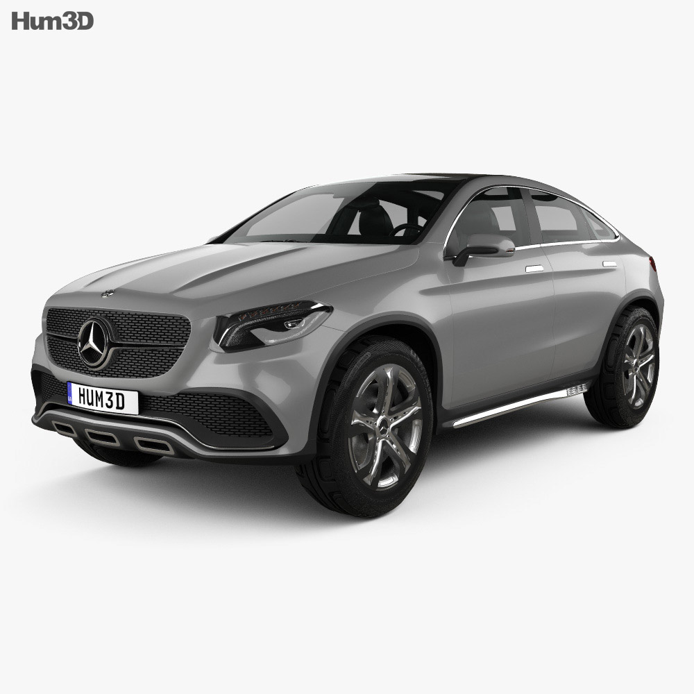 Mercedes-Benz Coupe SUV 2014 3d model