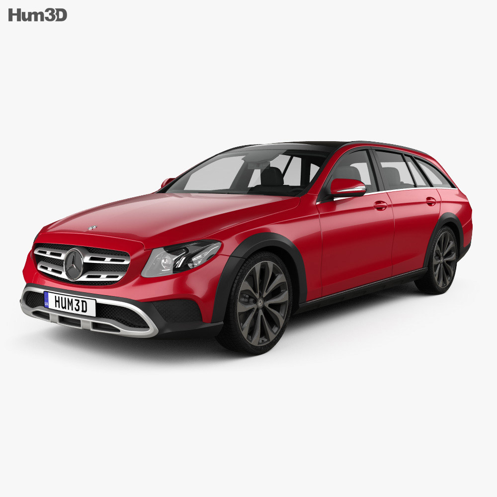 Mercedes benz e class s213 all terrain 2016 3d model hum3d for Mercedes benz e class models
