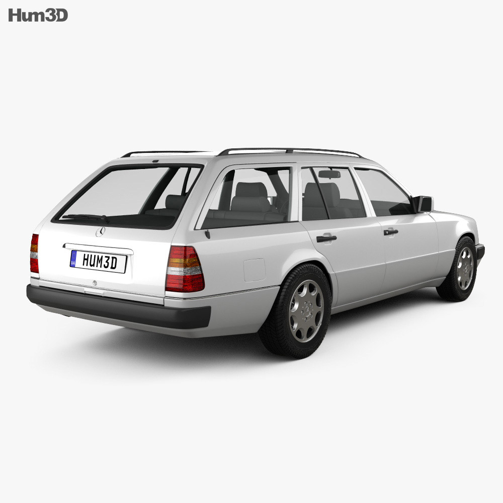 Mercedes-Benz E-class Wagon 1993 3d model