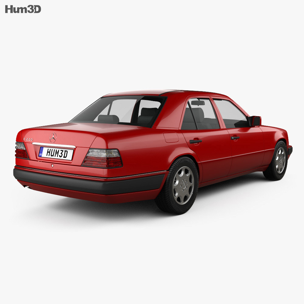 Mercedes-Benz E-Class sedan 1993 3d model
