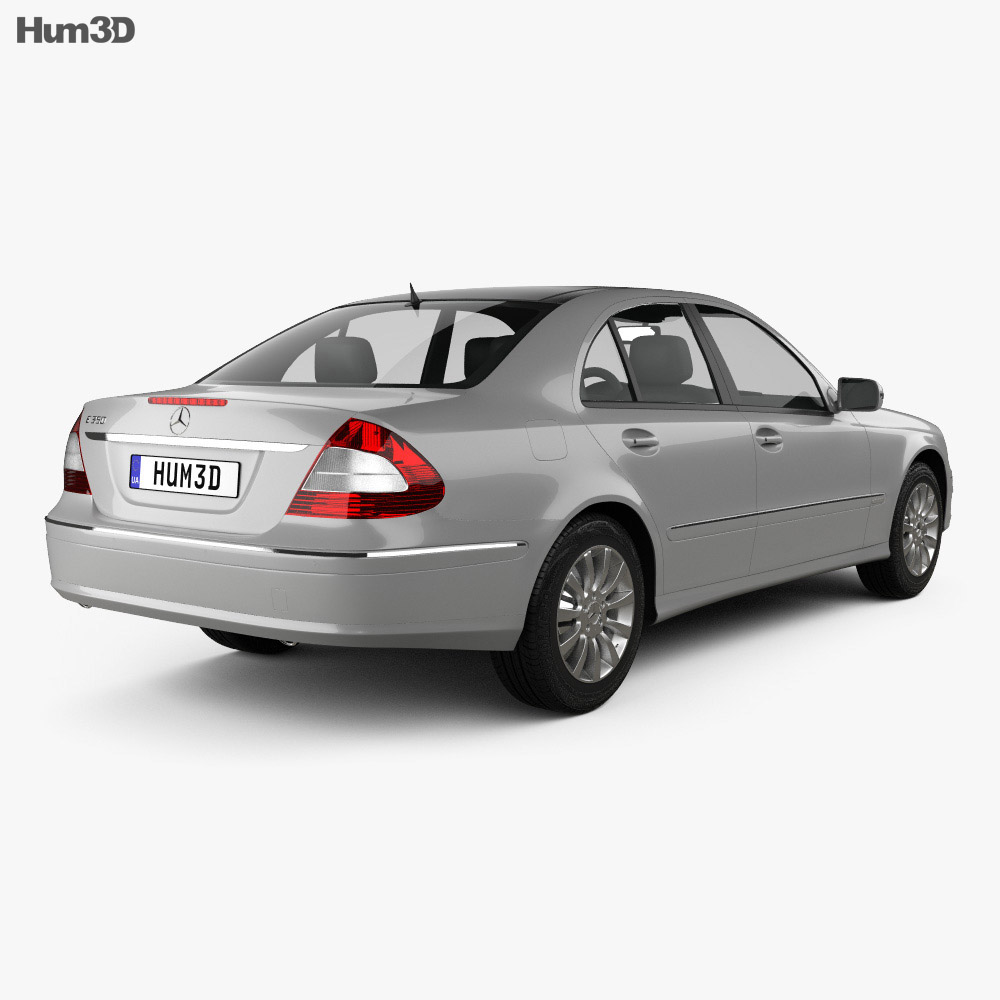 Mercedes benz e class w211 2006 3d model humster3d for Mercedes benz different models