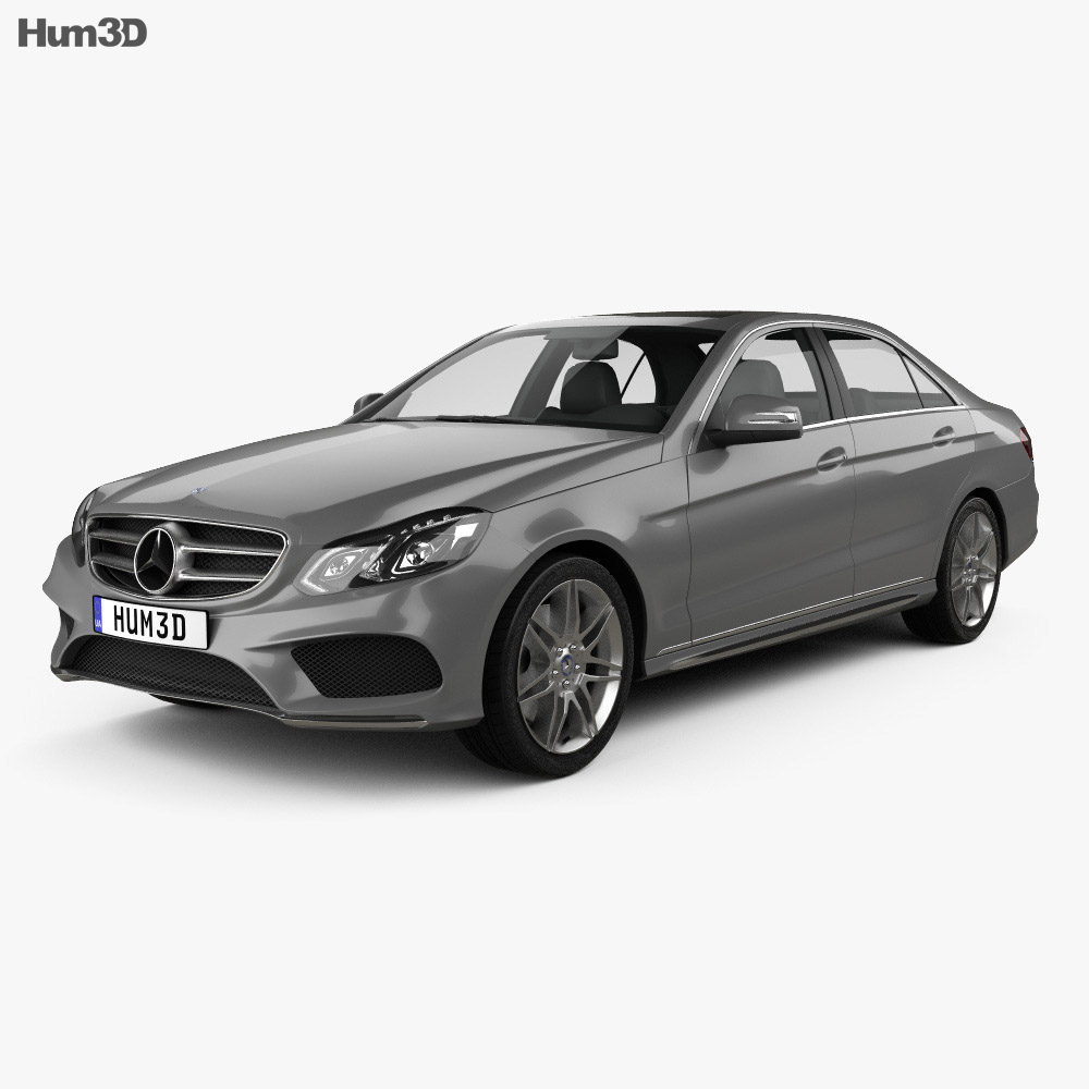 Mercedes-Benz E-Class (W212) AMG Sports Package 2013 3d model