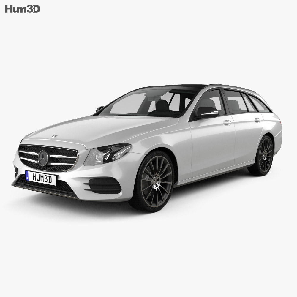 Mercedes-Benz E-Class (S213) AMG Line estate 2016 3d model