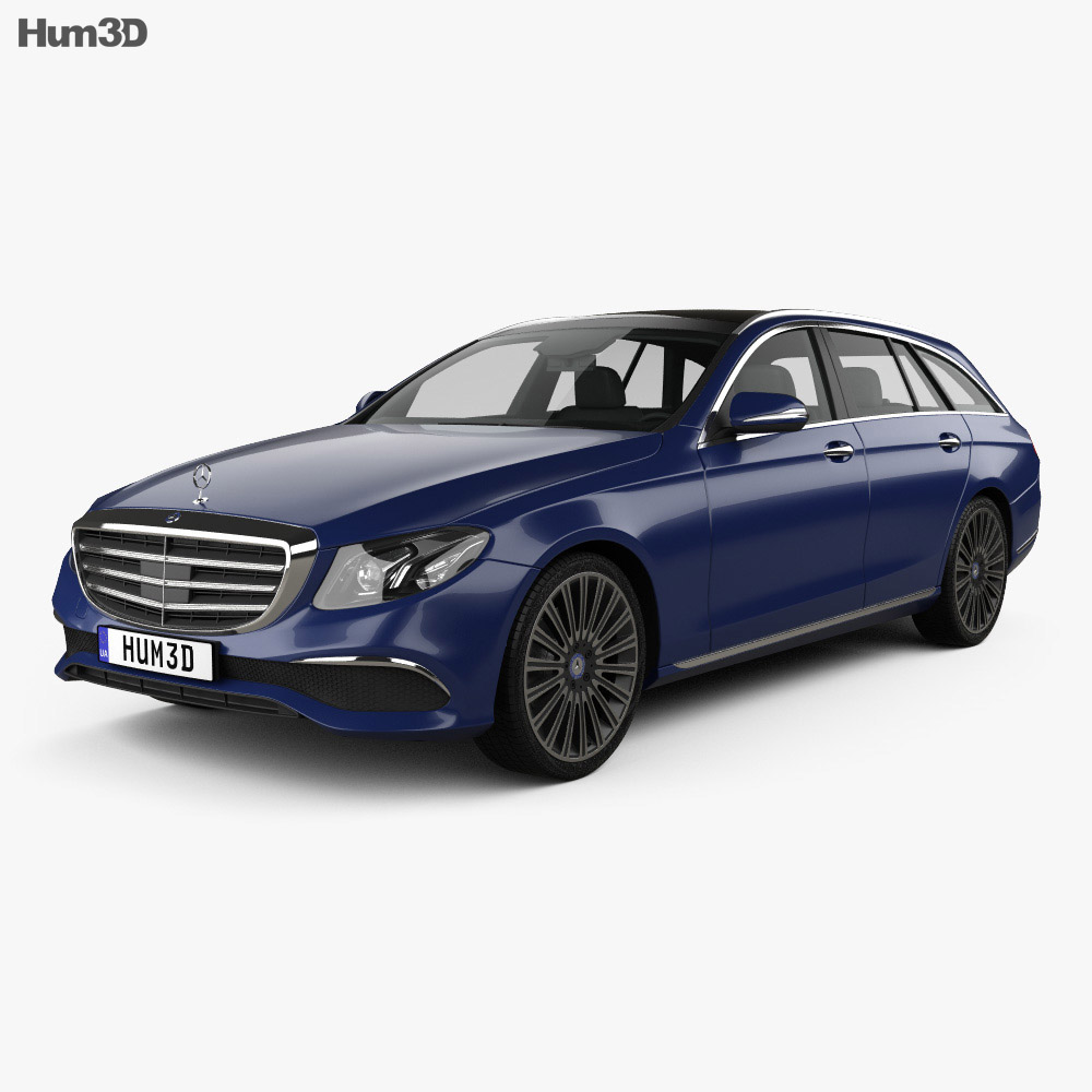 Mercedes-Benz E-Class (S213) Exclusive Line estate 2016 3d model