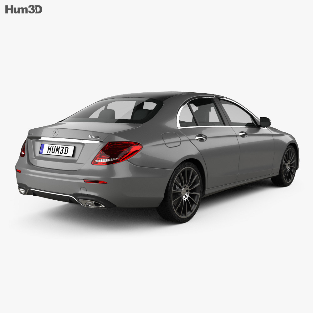 Mercedes Benz E Class W213 Amg Line 2016 3d Model
