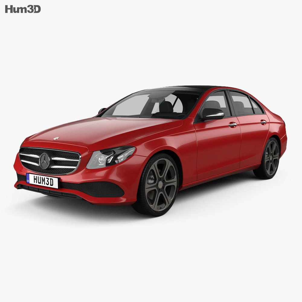Mercedes-Benz E-Class (W213) Avantgarde Line 2016 3d model