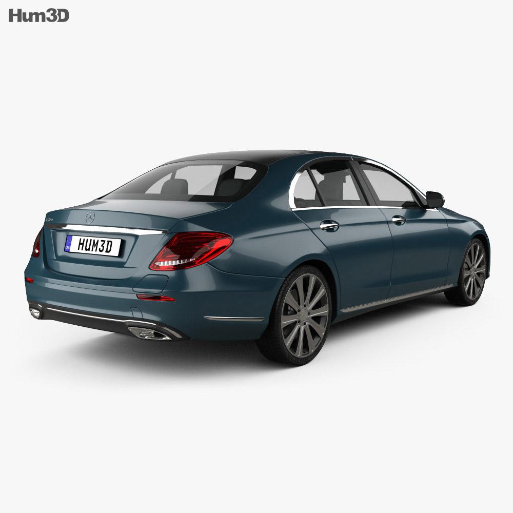 Mercedes-Benz E-Class (W213) Exclusive Line 2016 3d model