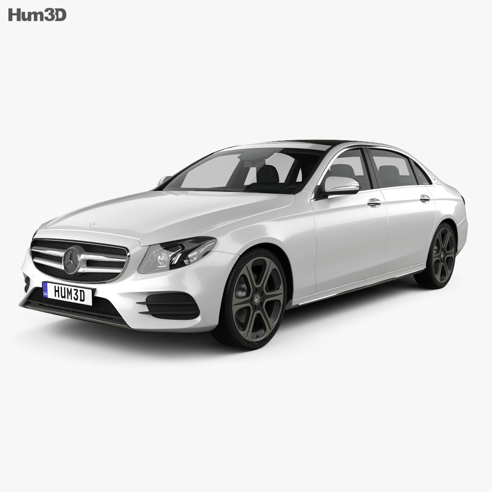 Mercedes-Benz E-Class (V213) L 2017 3d model