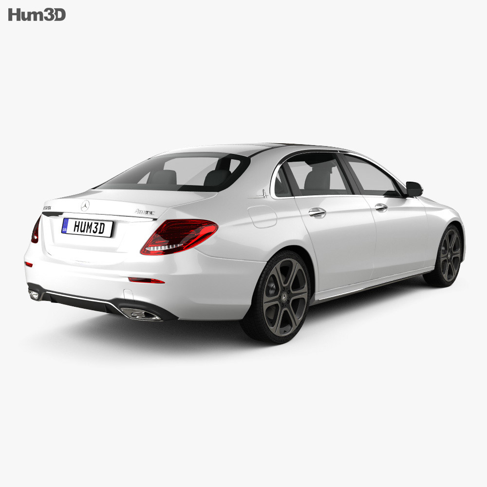 mercedes benz e class v213 l 2017 3d model hum3d