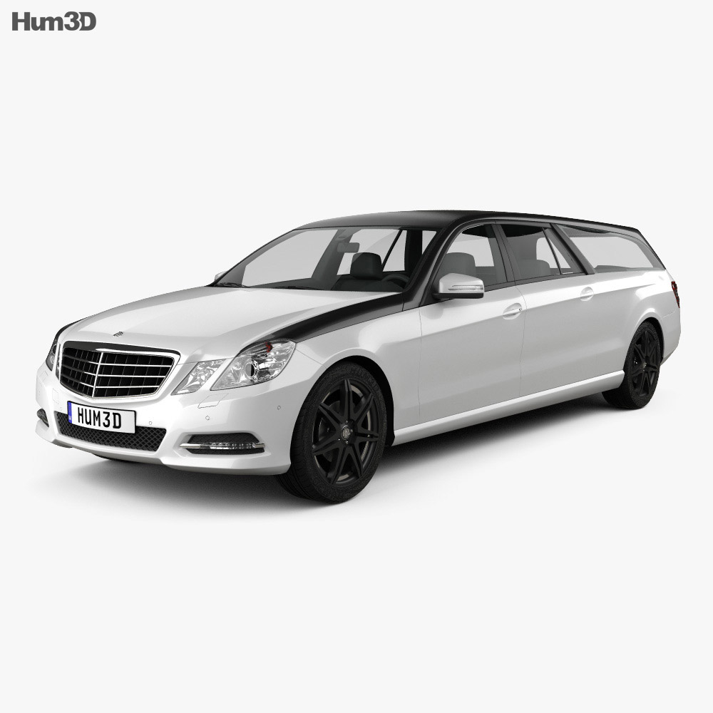 Mercedes-Benz E-Class Binz Xtend 2012 3d model