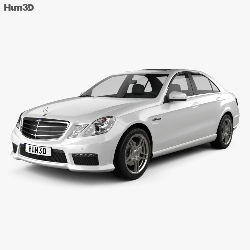 Mercedes-Benz E63 AMG (W212) sedan 2010 3d model