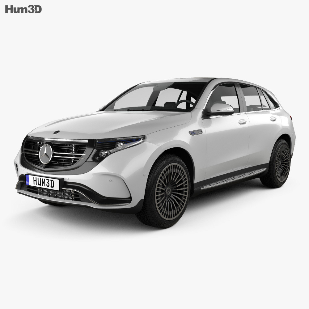 Mercedes-Benz EQC 2020 3d model