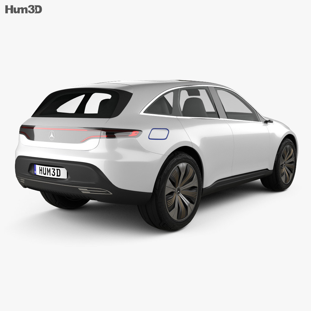 Mercedes-Benz EQ 2017 3d model