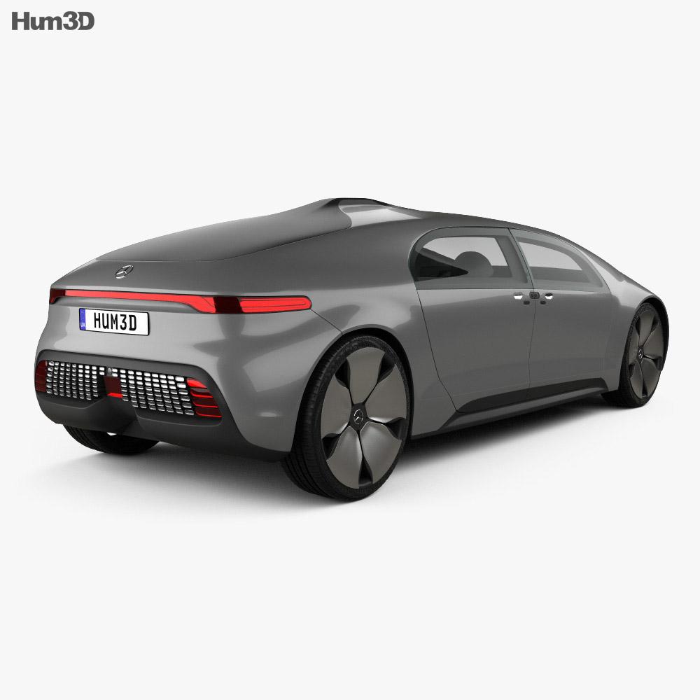 Mercedes benz f 015 2015 3d model hum3d for Mercedes benz 2015 models