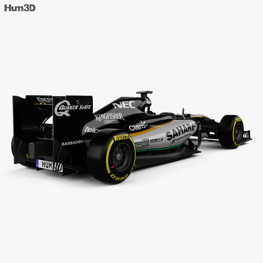 Force India VJM09 2016 3d model