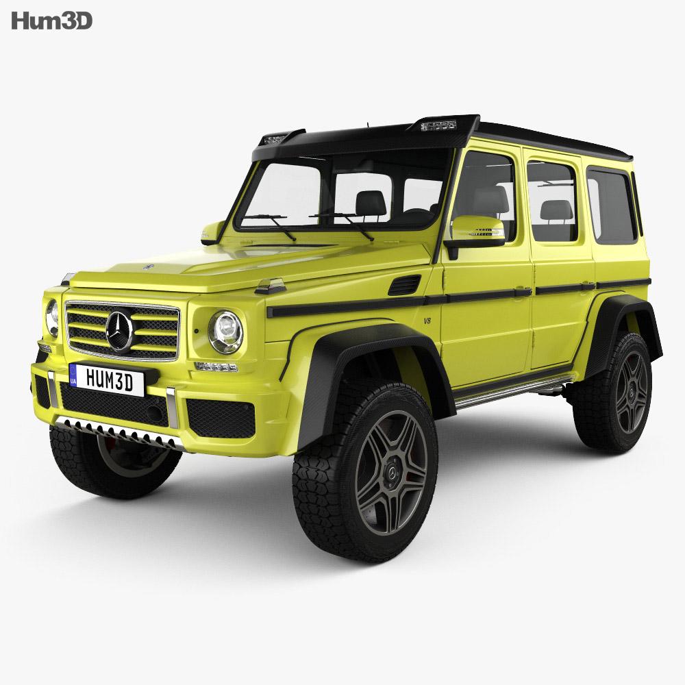 mercedes benz g class 4 4 2 2015 3d model humster3d. Black Bedroom Furniture Sets. Home Design Ideas
