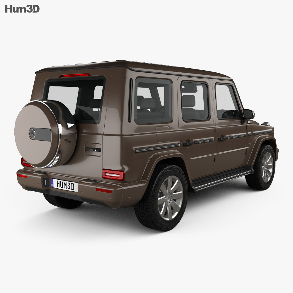 Mercedes-Benz G-class (W463) 2019 3d model