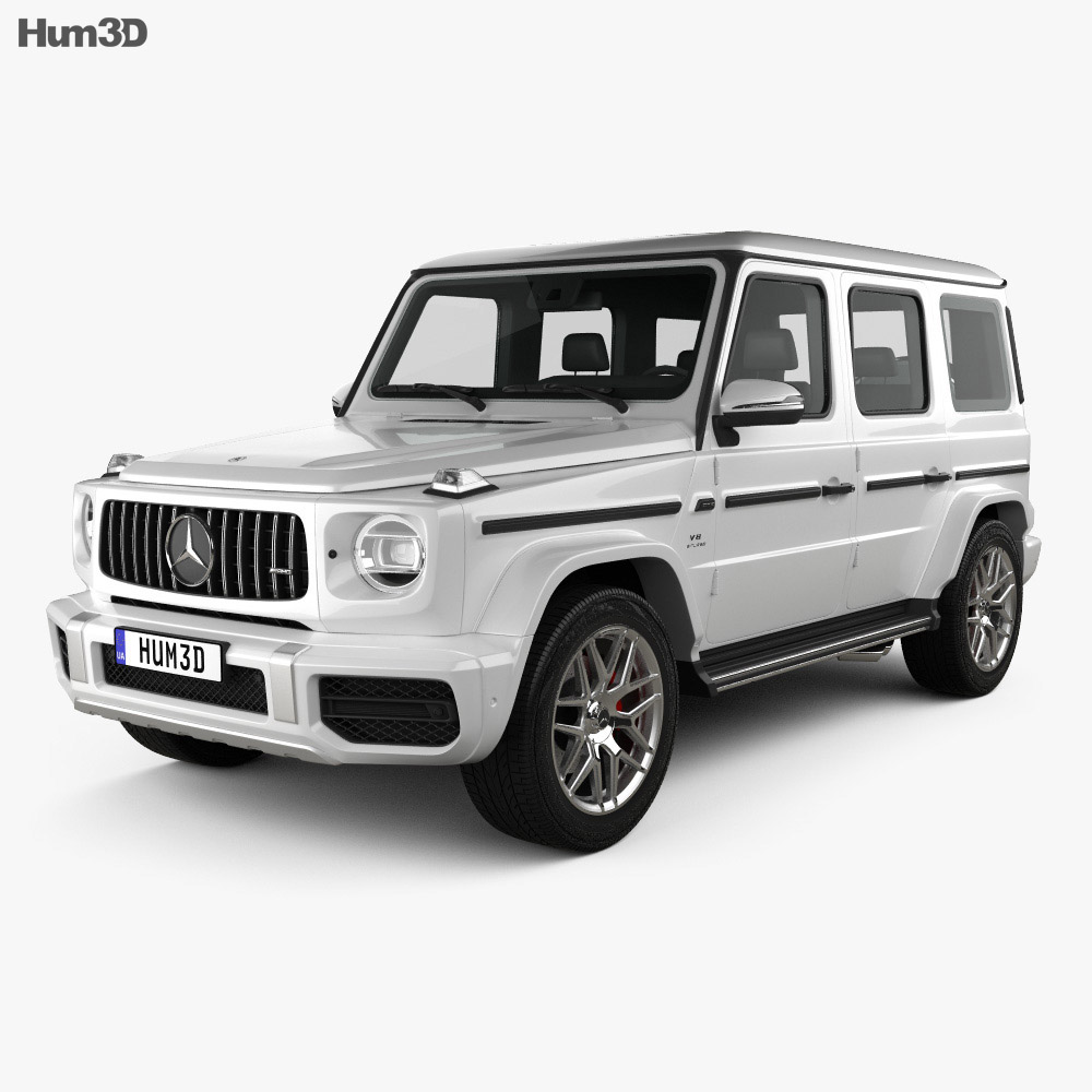 Mercedes-Benz G-class (W463) AMG 2019 3d model
