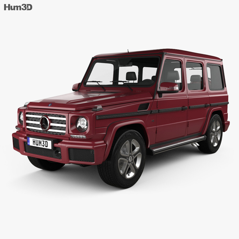 Mercedes benz g class 2016 3d model hum3d for 2016 mercedes benz g class