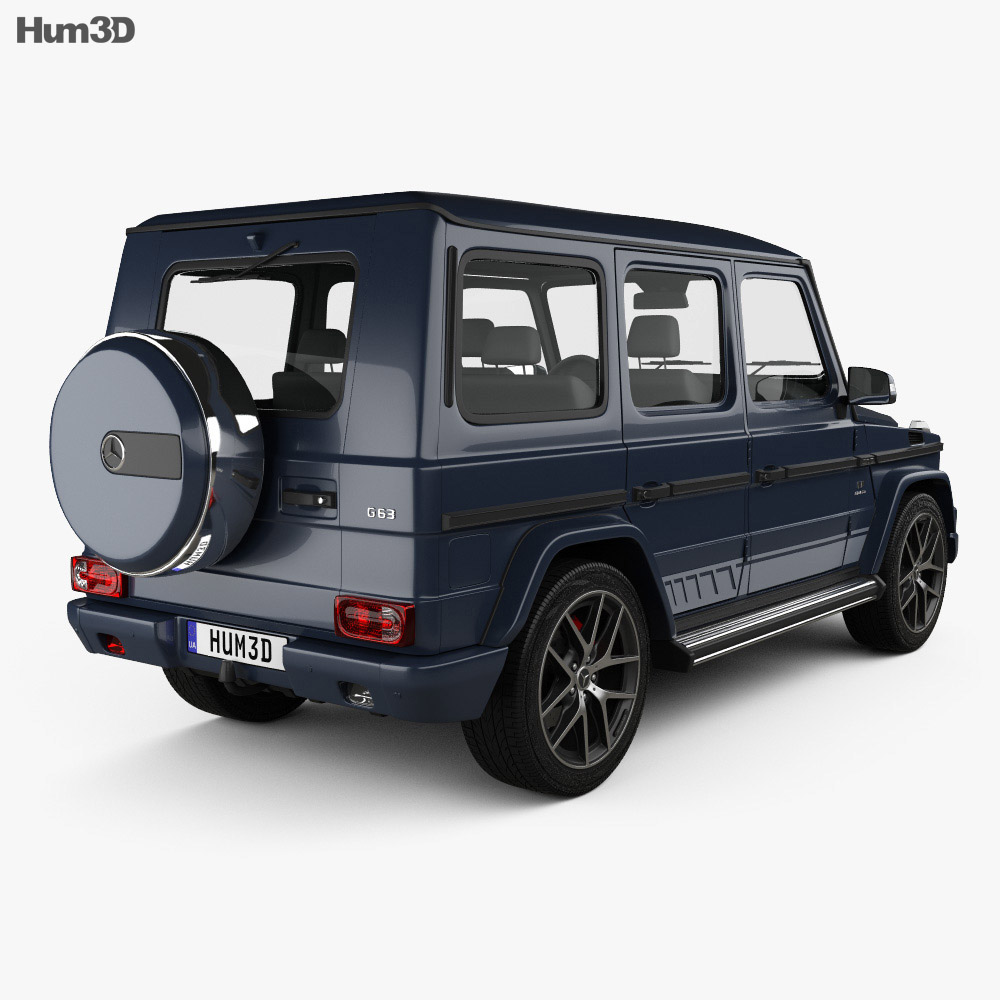 Mercedes-Benz G-Class AMG 2016 3d model