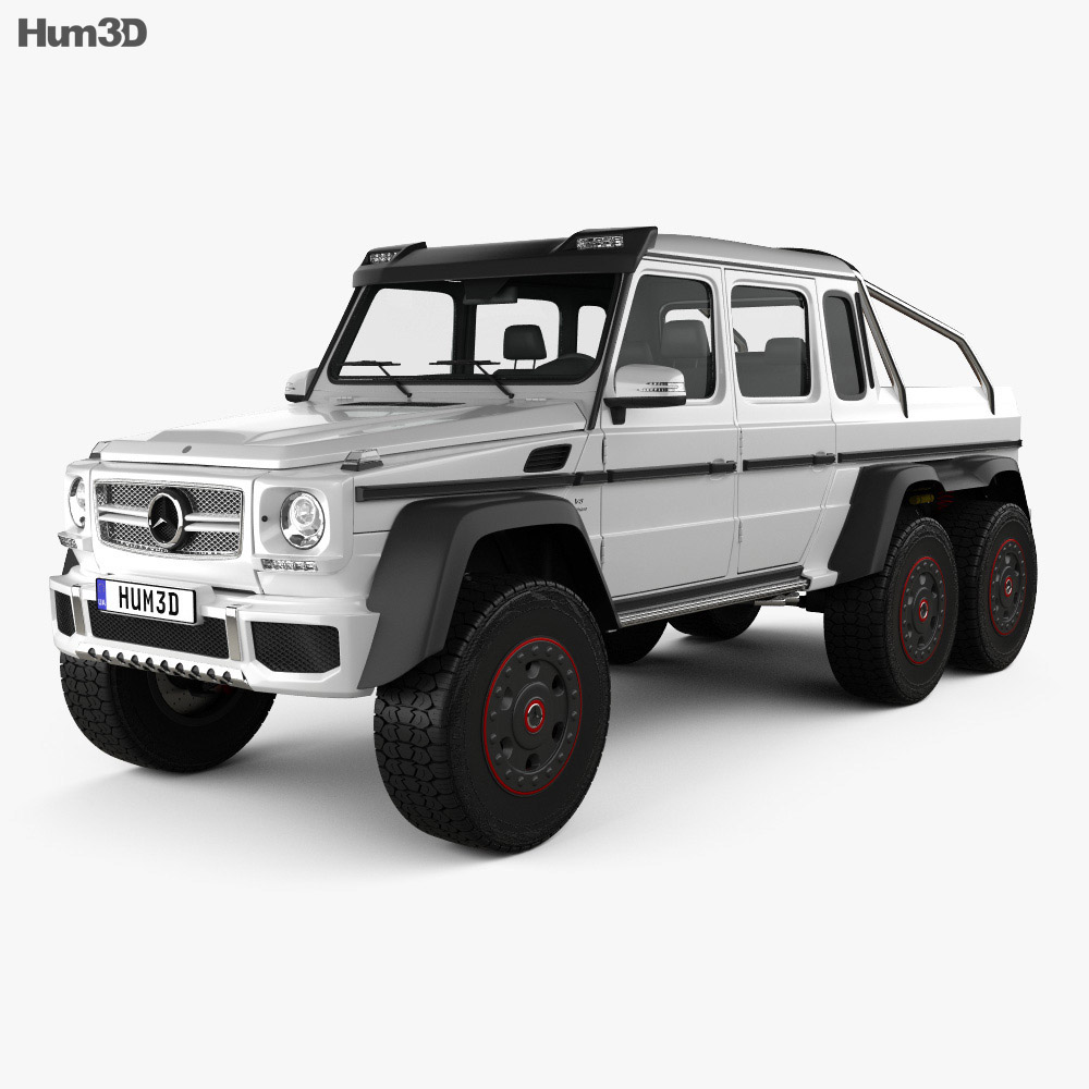 Mercedes-Benz G-Class 6×6 AMG 2013 3d model