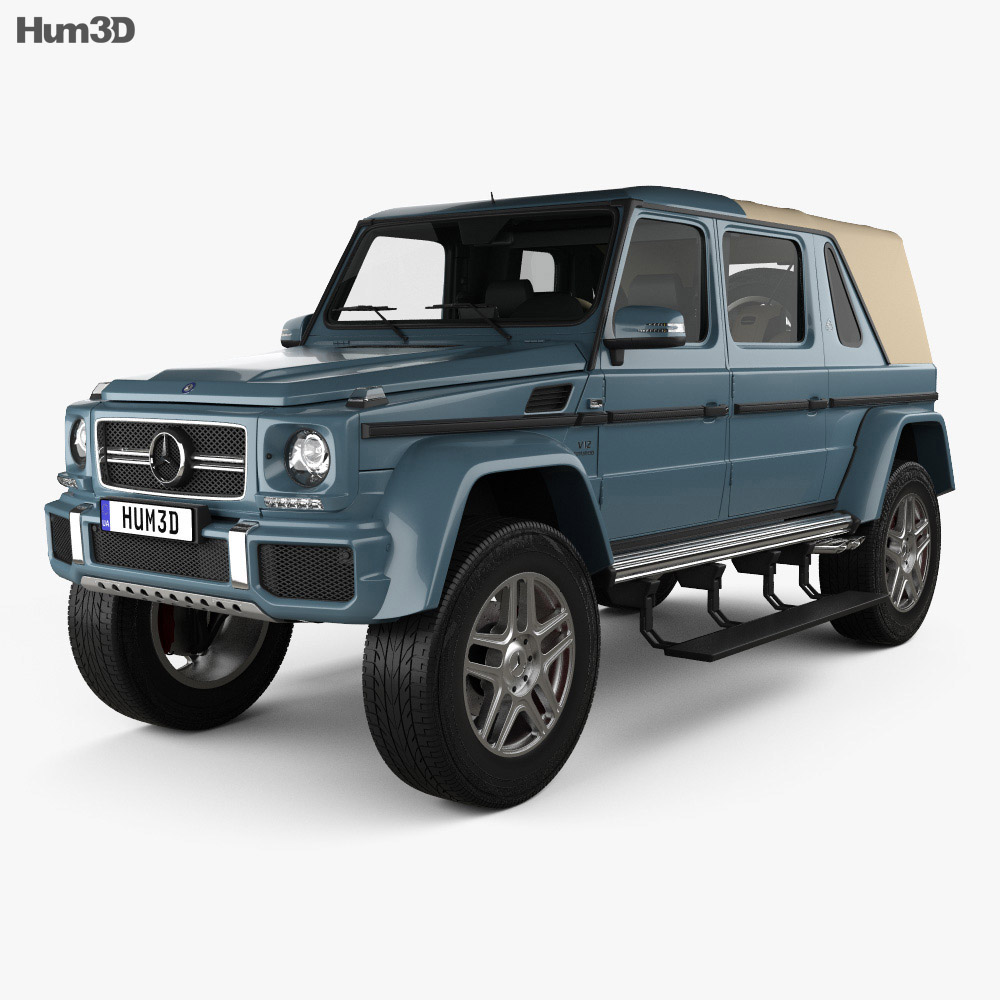 Mercedes-Benz G-class (W463) Maybach Landaulet With HQ