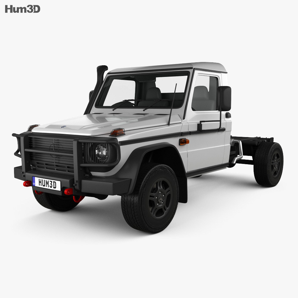 Mercedes-Benz G-Class (W463) Single Cab Chassis 2017 3d model